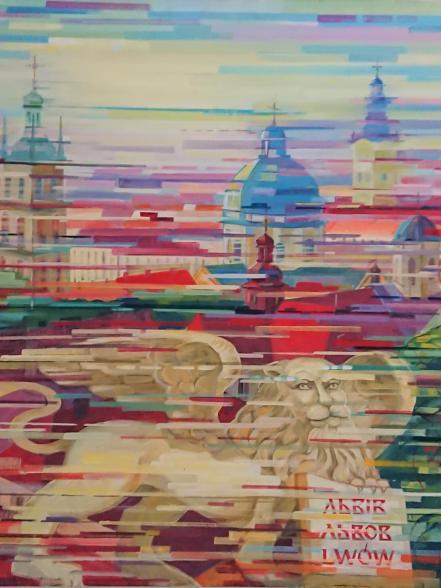 Виставка Володимира Слєпченка у Золочівському замку